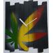 Marijuana wall clock-804056339790-sm