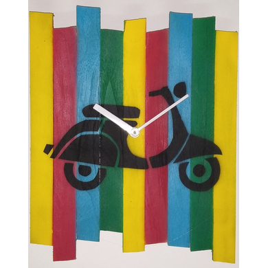 Scooter Wall clock-804056339646