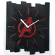 AVENGERS 10x8 inches handpainted and handcrafted wooden wall clock.-7426965624052-sm
