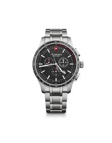 Alliance Sport Chronograph black & silver