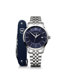Alliance with Pioneer Swiss Army Knife blue & silver
