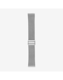 22mm Standard Steel-Mesh Watch Strap, Silver-Tone