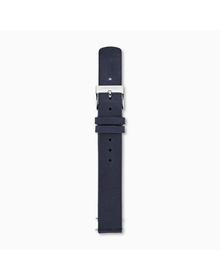 14mm Standard Leather Watch Strap, Blue
