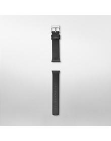 19mm Holst Leather Watch Strap, Black