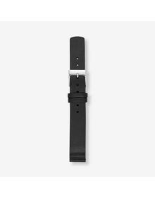 14mm Standard Leather Watch Strap, Black