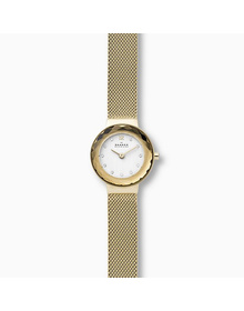 Leonora Gold-Tone Steel-Mesh Watch