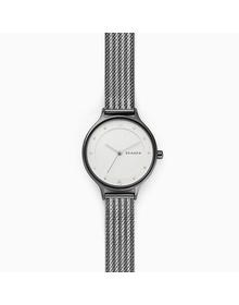 Anita Two-Tone Ripple-Mesh Watch