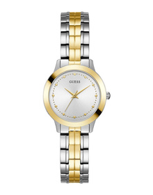 Ladies 2-Tone Case 2-Tone Stainless Steel Watch