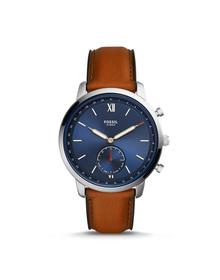 Hybrid Smartwatch - Neutra Luggage Leather