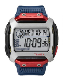 TIMEX COMMAND SHOCK 54MM RESIN STRAP WATCH