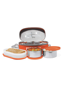 Milton Executive Lunch Box Set, 3-Pieces, 260 ml, Orange