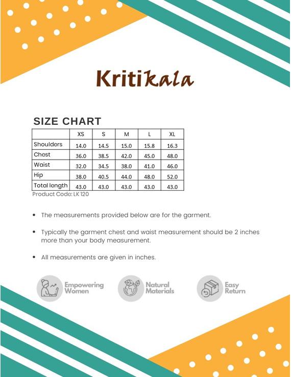 PISTA GREEN MANGALAGIRI KURTA WITH KALAMKARI DETAILS : LK120C-XS-3