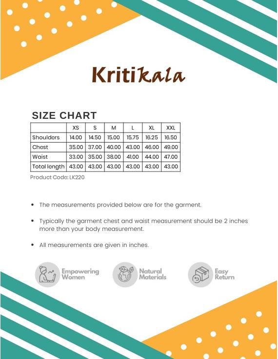 OFF WHITE KALAMKARI PINTUCKS KURTA WITH PALAZZO PANTS : LK220C-M-3