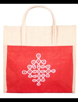 RED JUTE LUNCH BAG: MSL01-MSL01-sm