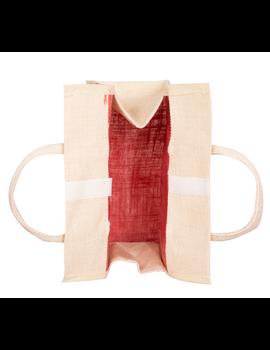 RED JUTE LUNCH BAG: MSL01-1-sm