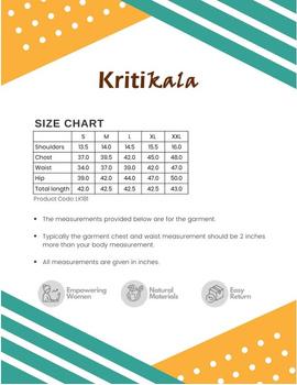 Peach kurta in handloom cotton with lambani embroidered yoke: LK181B-S-4-sm