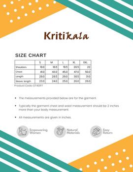 Steel Grey Handloom Cotton Short Kurta With Full Sleeves : GT401FFA-S-Grey-2-sm
