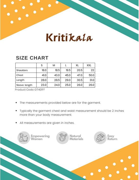 Steel Grey Handloom Cotton Short Kurta With Full Sleeves : GT401FFA-S-Grey-2
