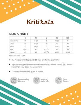 Mustard Mandarin Collar Kurta With Hand Embroidery: Lk400B-XXl-3-sm