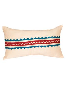 Semi Silk Hand Embroidered Cushion Covers- HCCO1-HCCO1-sm