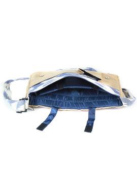Ikat Laptop bag - blue and white : LBI02-3-sm