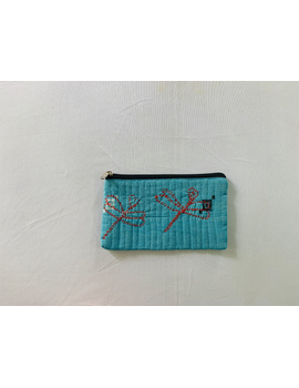 Pencil pouches with hand embroidery - pack of two : PPH01-2-sm