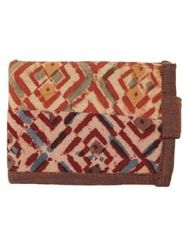 Narrow unisex wallet - brown : WLN01-3-sm