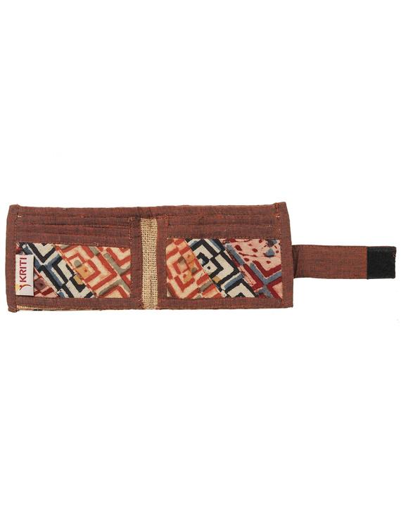 Narrow unisex wallet - brown : WLN01-4