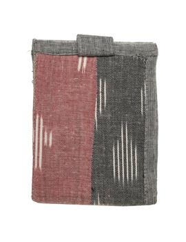 Narrow unisex wallet - grey : WLN02-4-sm