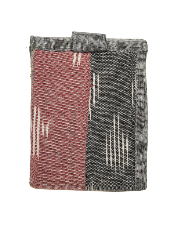 Narrow unisex wallet - grey : WLN02-4
