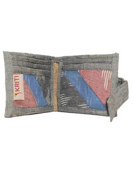 Narrow unisex wallet - grey : WLN02-3-sm