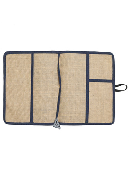 Reusable diary sleeve with diary  :  STJ02-Handmade paper-4-sm