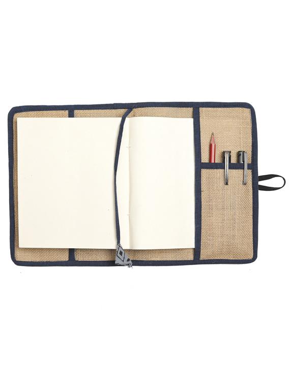Reusable diary sleeve with diary  :  STJ02-Handmade paper-2