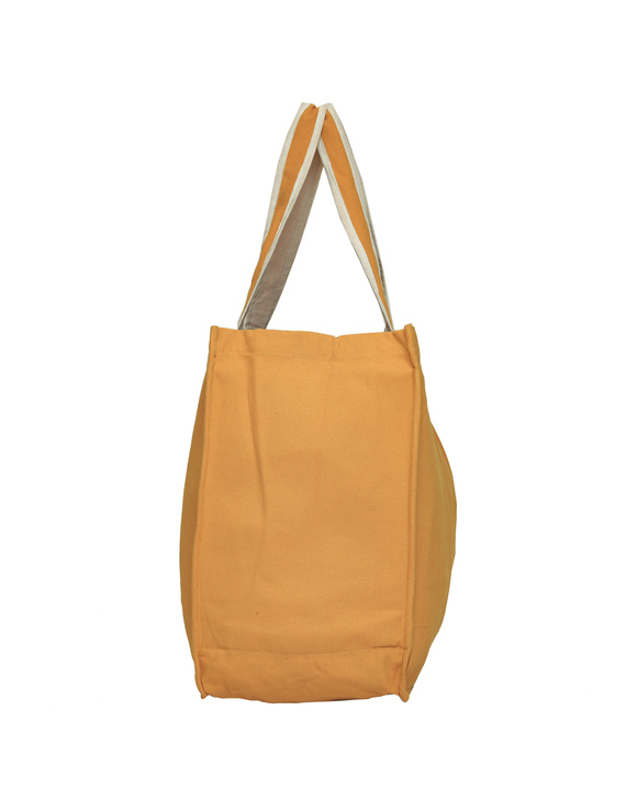 Canvas vegetable bag - yellow : MSV03-2