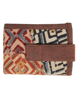 Narrow unisex wallet - brown : WLN01-2-sm