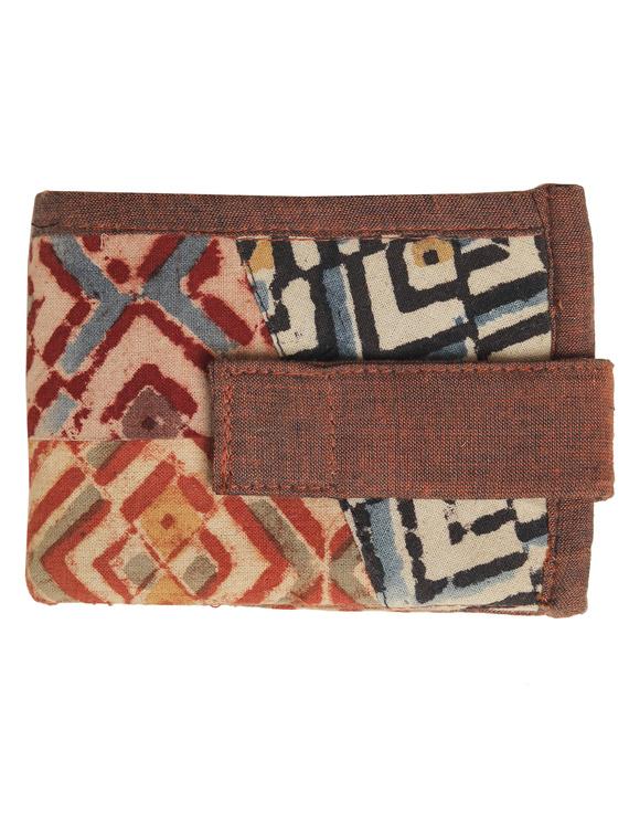 Narrow unisex wallet - brown : WLN01-2