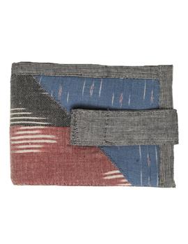 Narrow unisex wallet - grey : WLN02-2-sm