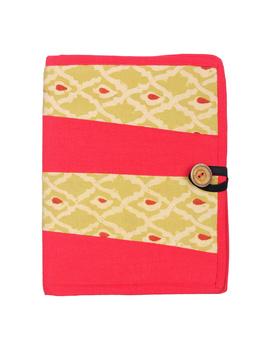 Reusable diary sleeve with diary - red : STJ01-STJ01-Ruled-sm