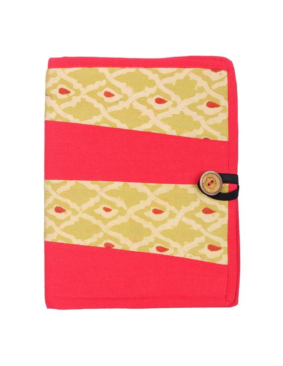 Reusable diary sleeve with diary - red : STJ01-STJ01-Ruled