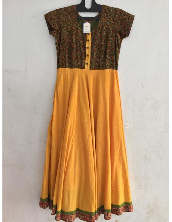 Elegant kurta in ajrakh cotton-SK32