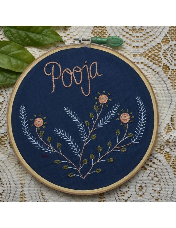 Customised embroidery hoop  wall hanging: HEH01-HEH01