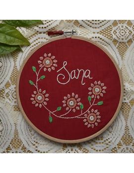 Customised embroidery hoop  wall hanging: HEH03-HEH03-sm