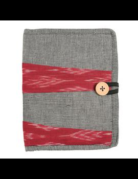 Reusable diary sleeve with diary - Grey : STJ05-STJ05-Ruled-sm