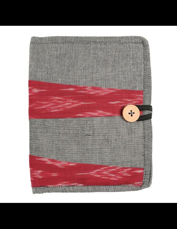 Reusable diary sleeve with diary - Grey : STJ05-STJ05-Ruled