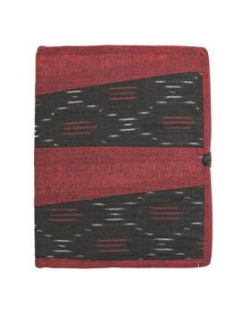 Reusable diary sleeve with diary - maroon : STJ04-Ruled-2-sm