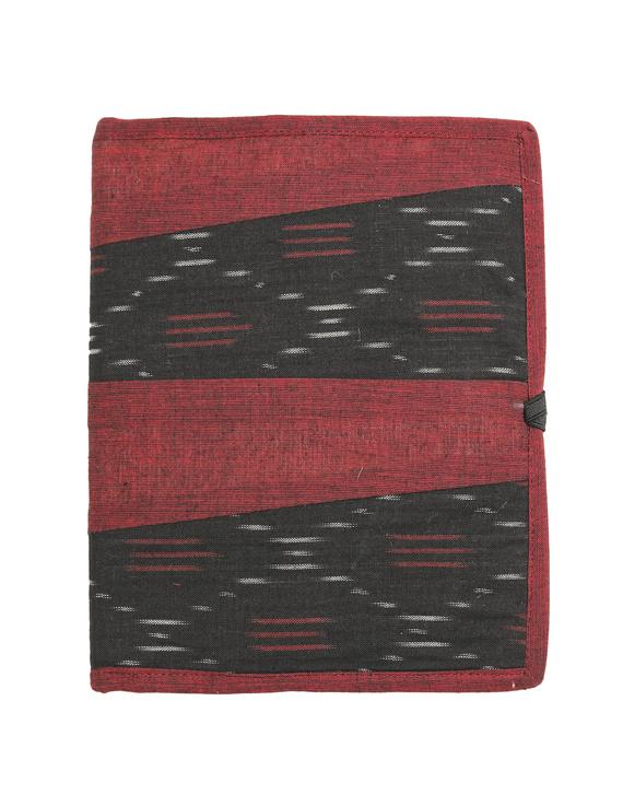 Reusable diary sleeve with diary - maroon : STJ04-Ruled-2