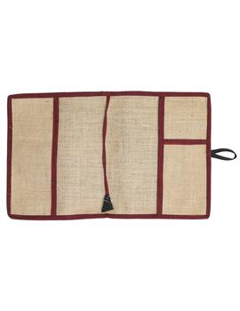 Reusable diary sleeve with diary - maroon : STJ04-Ruled-3-sm