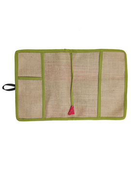 Reusable diary with sleeve - green : STJ03-Ruled-3-sm