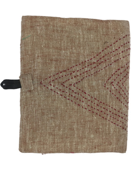 Notebook with embroidered cover : STN01-1-sm