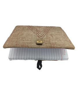 Notebook with embroidered cover : STN01-5-sm
